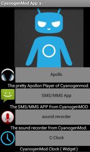 PortedAPP Cyanogenmod